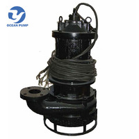 hot sale small diameter slurry and sand submersible pump