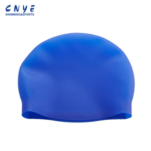 Best Quality seamless silicone swimming cap made in China alibaba