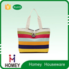 Hot Sale High Quality Cheap Multifunctional Utility Fashion Lady Fabric Tote Bag