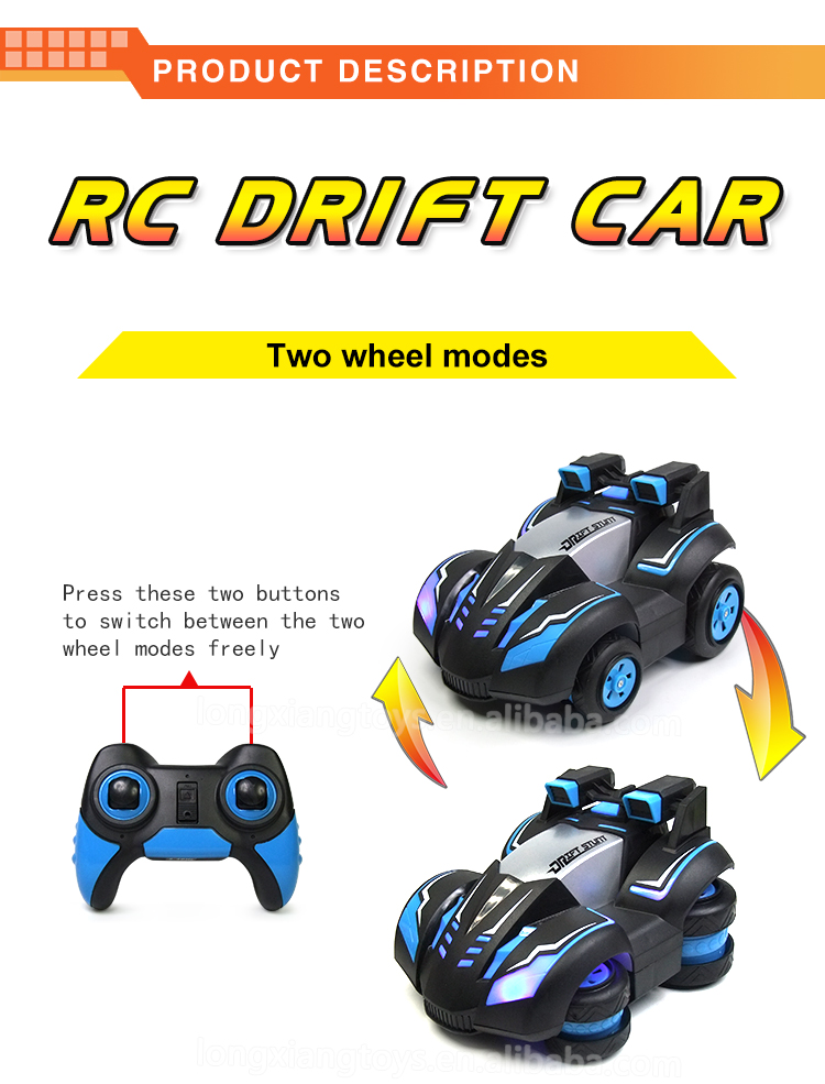 Toy Factory Price RC Car Drift 2.4G Popular Powerful Mini Cool Electric Plastic Drift Cars