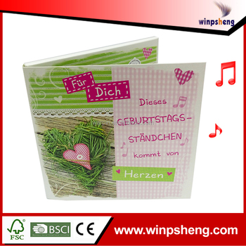 wedding anniversary greeting card with music music card inserts