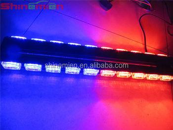 Redblue led warning light barled security vehiclesled light bar redblue led warning light barled security vehiclesled light bar aloadofball Choice Image