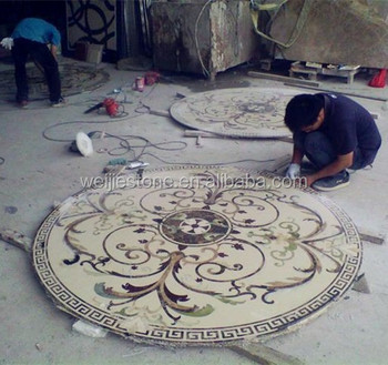 well polished natural marble flooring for luxury castle decoration