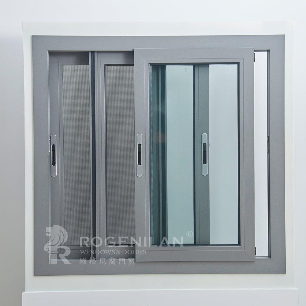 Rogenilan 100 Series Aluminum Mosquito Net Sliding Window China