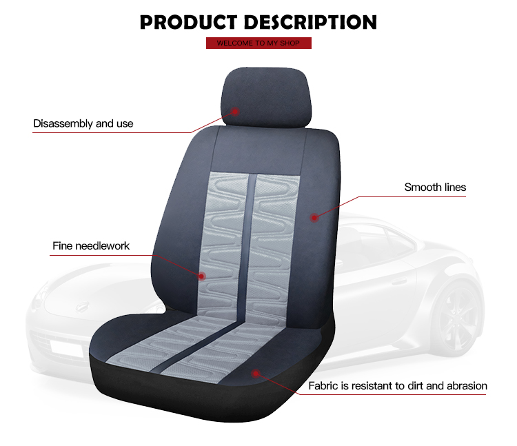 Hot Sale Removable Cheap Car Seat Covers Design