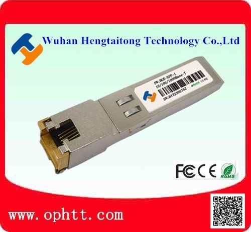 Cost Effective 10/100 Base Ethernet SFP Copper 100M Adaptive 10g copper sfp