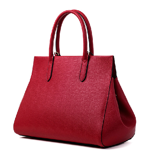 Korean big size women bags fashion design new style leather high quality office ladies tote handbags