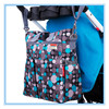 Fashion waterproof nylon diaper bag with handle for women diaper bags mummy baby bag