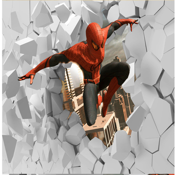 3d Cartoon Wall Mural Iron Manspiderman Wall Muralwallpaper Buy 3d Cartoon Wall Muraliron Manspiderman Wall Muralwallpaperiron Manspiderman