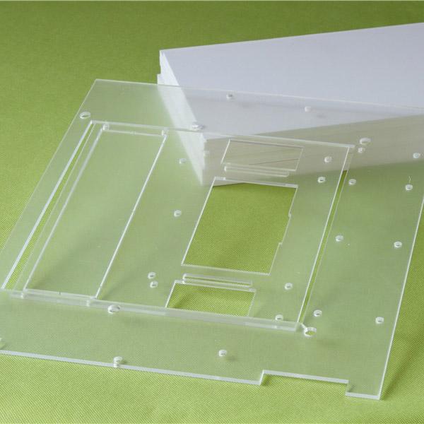 Transparent Acrylic Plexiglass Sheet With Drilling Holes Buy