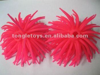 10cm tpr fluffy pen cap spiky pen topper ball pen toppers buy tpr