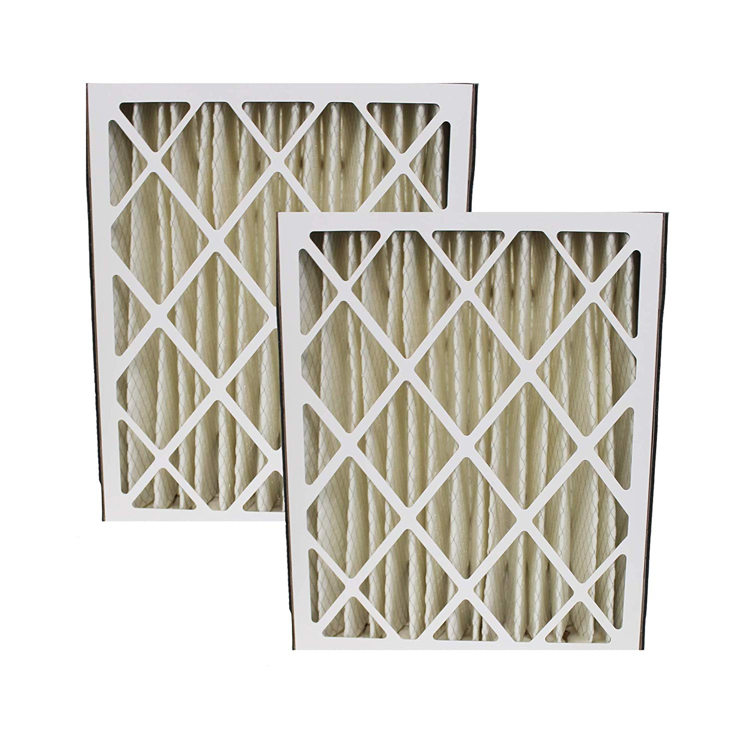 Think Crucial 2 Replacements for Trion Air Bear 20x25x5 Pleated Furnace Air Filter Fits 255649-102, MERV 8