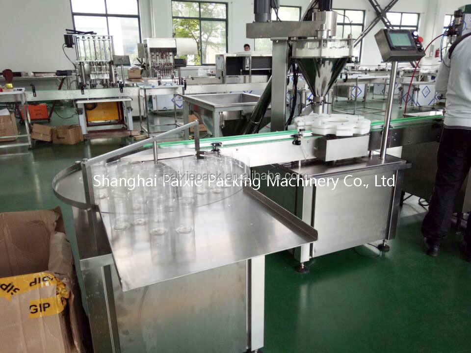 Automatic tin can filler capper machine detergent powder packing machine germany in factory price