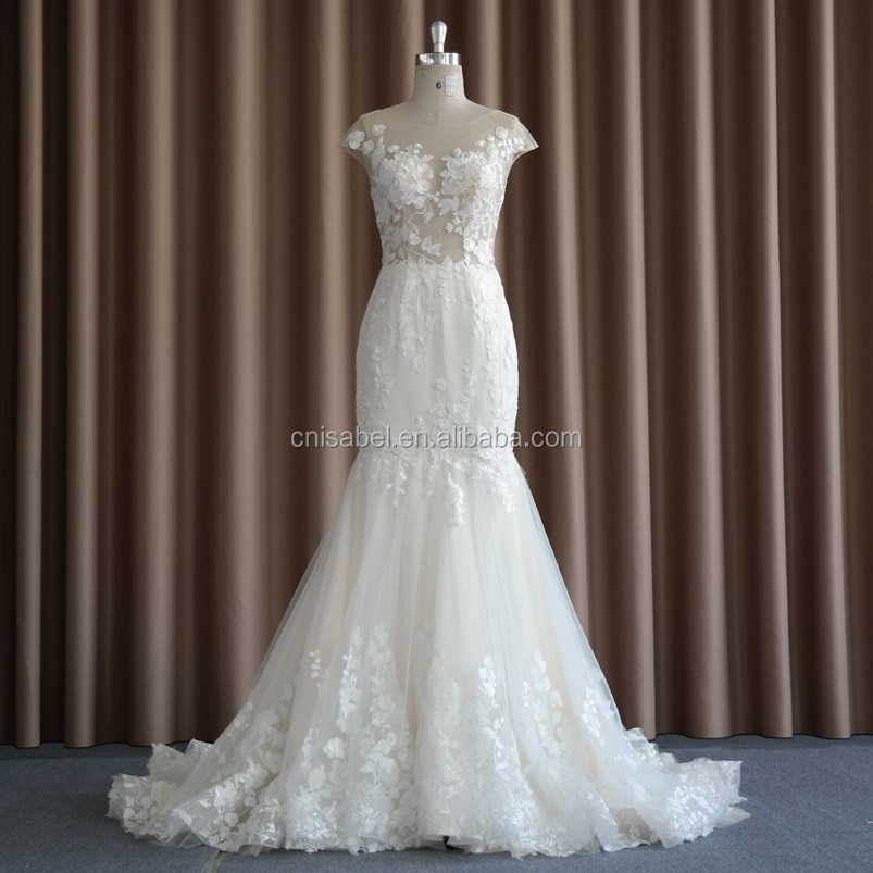 Sw16668 Sex Satin Backless Off Shoulder Long Tail Ball Gown Wedding