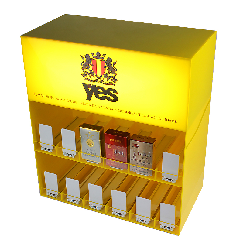<strong>Retail</strong> smoked LED vape juice display counter,acrylic liquid holder,tobacco display cabinet shelf display boxes