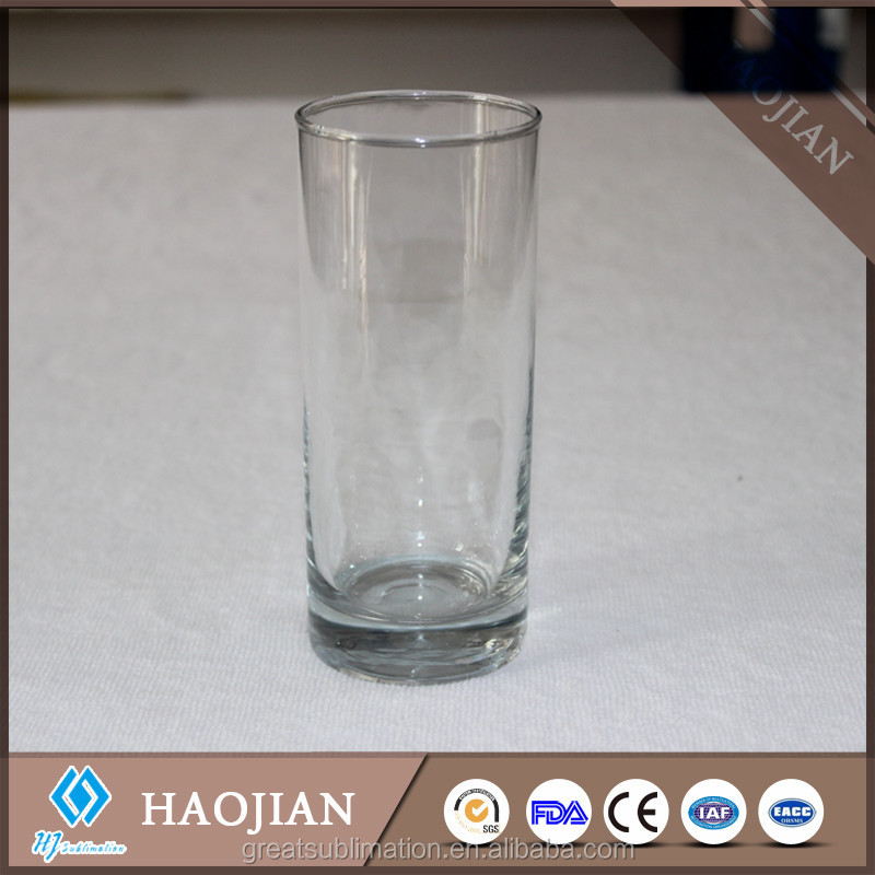 factory price sublimation blank drinking glass