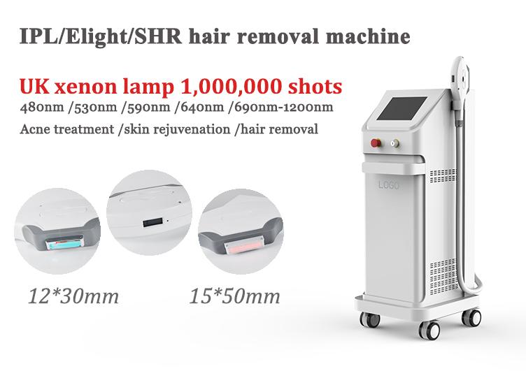 ร้อนขายเยอรมนีโคมไฟ fast hair removal OPT ipl shr เลเซอร์/shr ipl