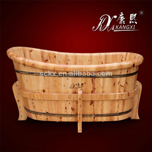 kx-21 Safety and convenient wooden shower bathtub,lowes walk in bathtub with shower