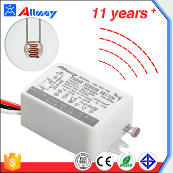 New Electric 35w Square Radar Microwave Induction Sensor Switch Instead Of The Human Body Infrared