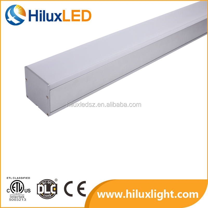 New design seamless 4ft40w ETL approved no gap LED linear lighting fixture