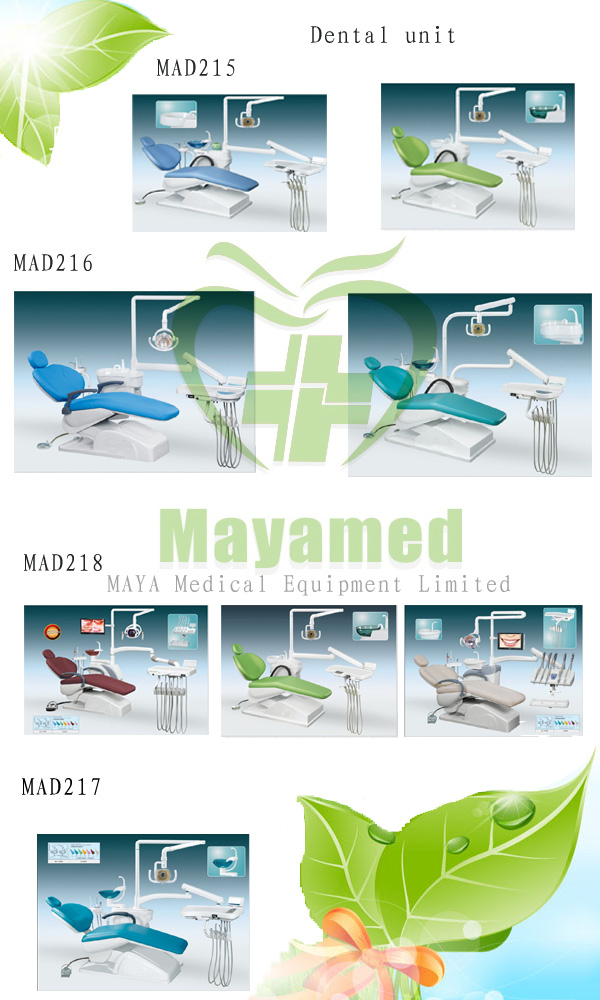 Factory Direct China High Level Medical dental instrument electric adjustable Integral Dental Chair unit equipment Price