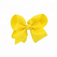 Hair Accessories Wholesale Big Baby Kids 6 Inch Hair Bows With Clips