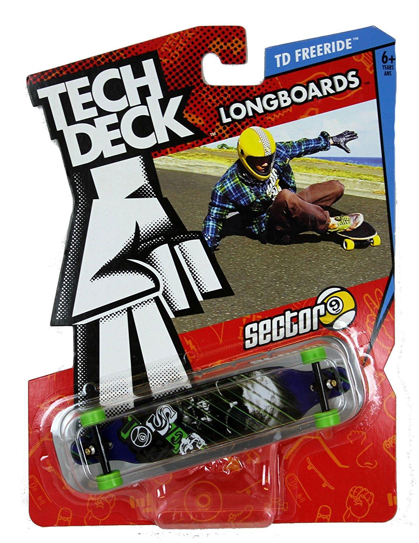 """Buy Tech Deck Longboard - TD Freeride """"Sector 9"""" Skull on ..."""