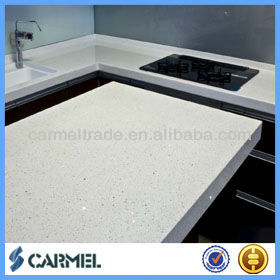 Cheap White Sparkle Quartz Stone Countertop