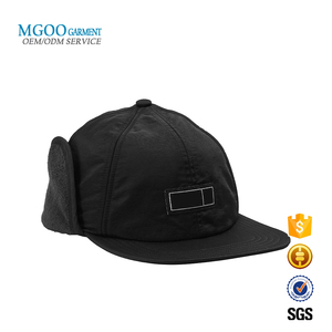 8fc2fc47 Ear Flaps Flat Brim Cap, Ear Flaps Flat Brim Cap Suppliers and  Manufacturers at Alibaba.com
