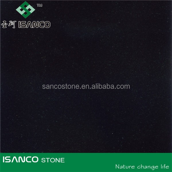 absolute nero black granite tiles pure black color polished surface interior exterior decoration usage countertops tiles slabs