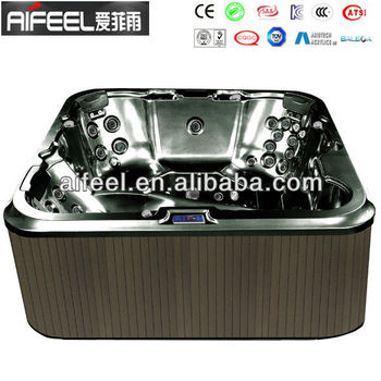 2017 new air jet luxury Combo Massage spa garden therma outdoor bathtub spa hot tub