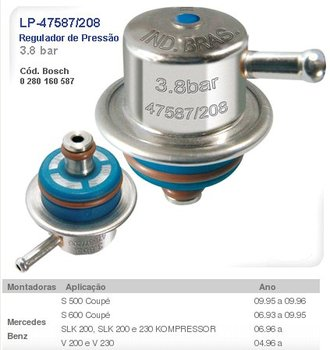 Fuel System Pressure Regulator-lp-47587 / 208 - Buy Fuel Pressure Regulator  Product on Alibaba com