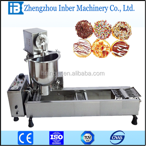 Electric donut maker doughnut making machines snack food processing machine