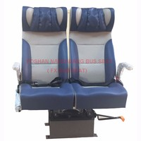 First class swivel passenger seats for train