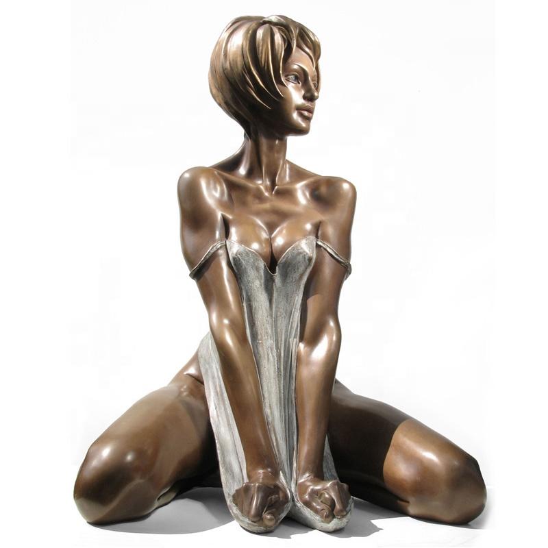 Erotic Sculpture, Natural White Marble Sculptures
