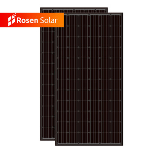 Manufacturer OEM Mono 380W Black PV Panels Solar Modules 72cells