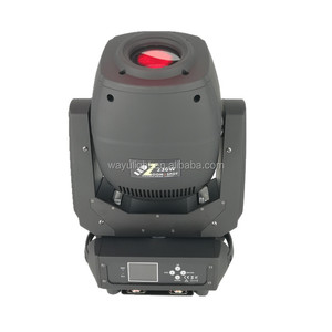 230W LED Beam Spot Wash 3in1 Zoom Moving Head Light Rotation 6+5 Double Prism 230W LED Moving Head