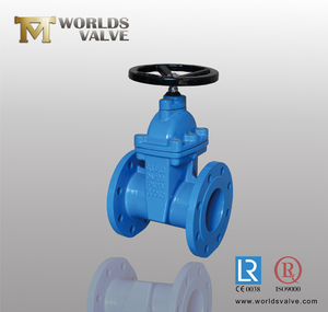Cast iron bs 5163 ductile iron non rising stem 10 inch gate valve