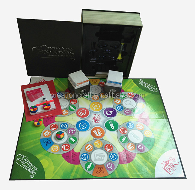 Papier gokken board games