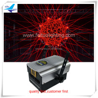 Dj equipment dmx 512 laser 4000mw party laser light 4W animation writing laser light