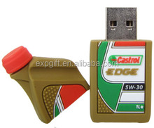 Engine Oil USB Flash / Synthetic Oil USB Flash Drive / Conventional Motor Oil USB Flash Drive
