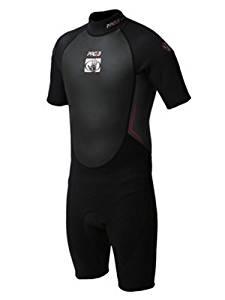 d5ebd21e38 Get Quotations · Body Glove Men s Pro3 2 1mm Springsuit Wetsuit -  Black Grey Lime