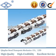 2080VRP producing line conveyor plastic roller drive double plus chain with snap cover