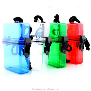 11.2*7.1*3.3cm Plastic beach waterproof storage box