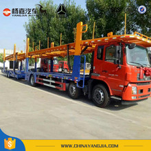 Transport 8 Car Carrier Semi Trailer Truck Trailer For Sale