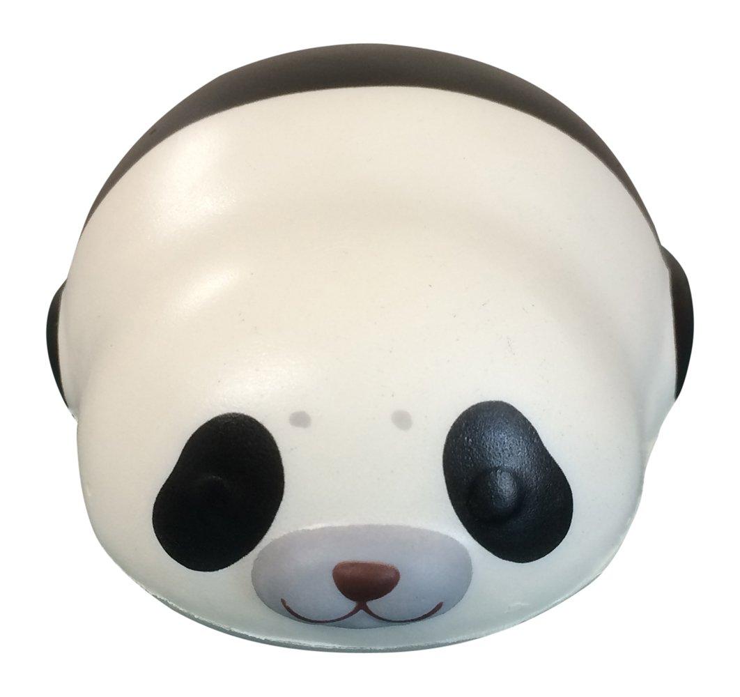 Puni Maru MINI Mochi Seal Squishy with 2 Bonus Mini Squishies from Jenna Lyn! (Panda)