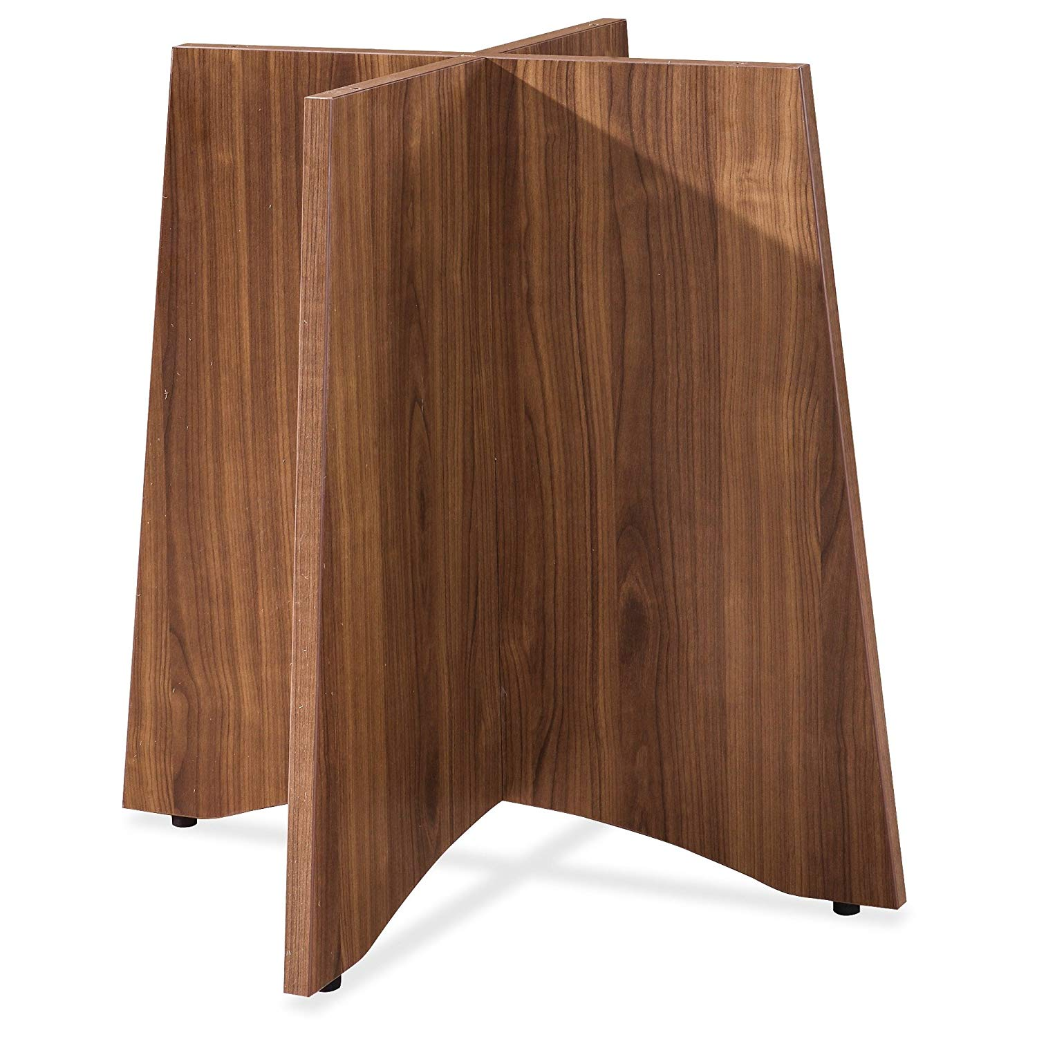 Get Quotations · Lorell Essentials Srs Walnut Laminate Round Table