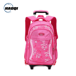 Factory New design Polyester Kids Trolley school bag for girls a1ca8e578fa32