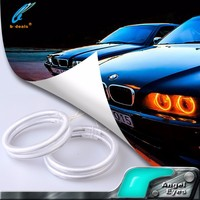 B-DEALS car ccfl angel eyes headlight drl halo ring angel eyes kit for Toyota Camry European American