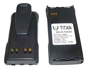 2x For Motorola NTN9858 NTN9815AR NTN9858C 7.5V Ni-Mh 2700mAh XTS1500 XTS2500